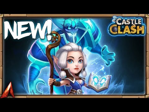 NEW HERO ESPIRITA GAMEPLAY! New Update Info! Castle Clash