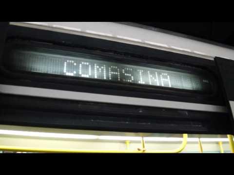 Milan Metro Line 3 train at Duomo