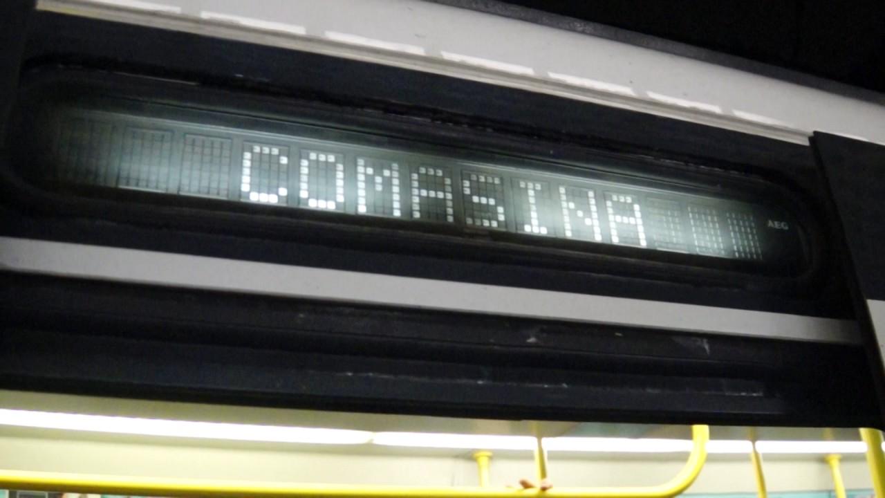 Milan Metro Line 3 train at Duomo - YouTube