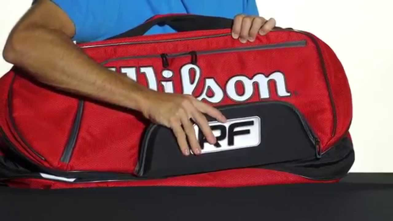 69a3e39f40 Wilson Federer Elite 12 Pack Bag. Tennis Warehouse