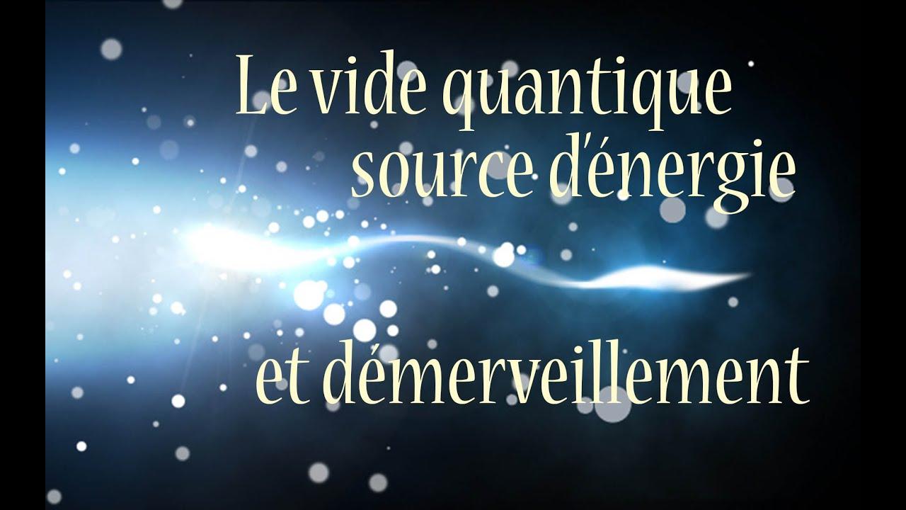le vide quantique