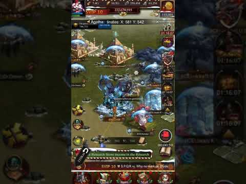 Clash Of Kings K1087 Last Rally On IC E Before Transfer