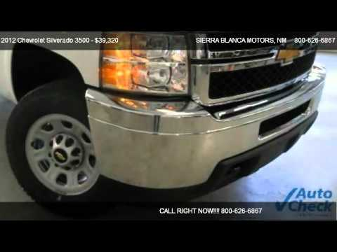 2012 Chevrolet Silverado 3500 Work Truck For Sale In
