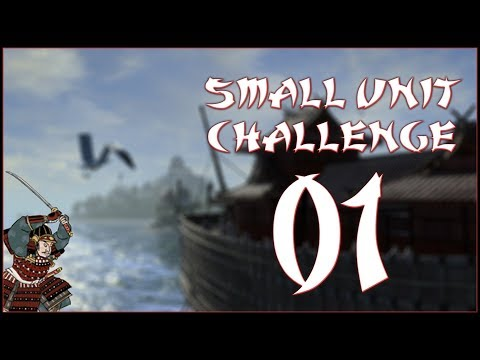 MIGHT OF THE MORI - Mori (Challenge: Small Unit Size) - Total War: Shogun 2 - Ep.01!