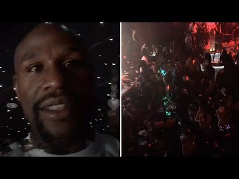 Floyd Mayweather Throws $2,000,000 Party To Celebrate Winning Conor McGregor | FULL VIDEO