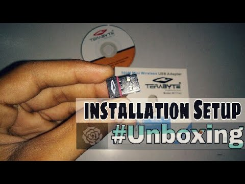 TERABYTE WiFi USB Adapter 500Mbps | Unboxing and installation Setup