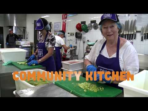 Foodbank WA's Community Kitchen