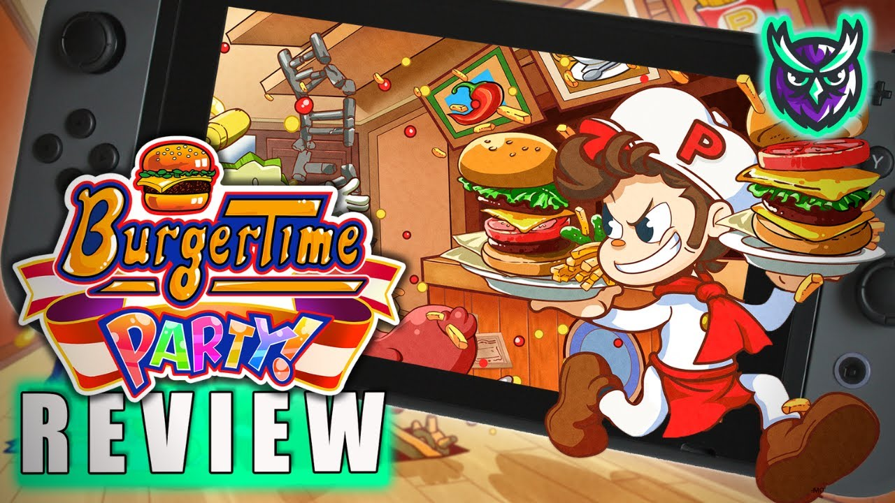 An Arcade Classic is Back...!? BurgerTime Party Switch Review (Video Game Video Review)