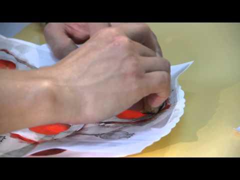 «Ручная работа». Трафаретная роспись тарелки (24.06.2015)