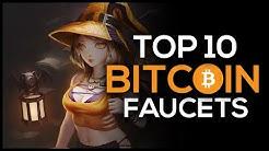 Top 10 Bitcoin Faucets