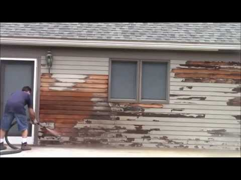 How To Video How To Remove Mold Mildew Stains On Exterior