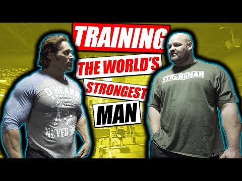 Mike O'Hearn Trains The Worlds Strongest Man | Brian Shaw