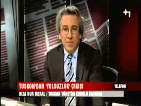 TUSKON Başkanı Rızanur Meral, Can Dündar'ın canlı yayın konuğu