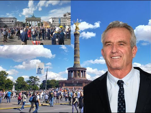 Robert F. Kennedy Jr - Historic Speech in Berlin - 29.8.2020!!