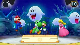 Mario Party 10 - Minigames - Mario vs Yoshi vs Luigi vs Peach- NDV85 Chanel