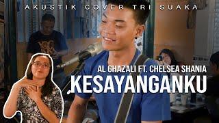 Download KESAYANGANKU - AL GHAZALI FT. CHELSEA SHANIA (LIRIK) LIVE AKUSTIK COVER BY TRI SUAKA - PENDOPO LAWAS