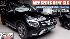 New Mercedes Benz GLC Most Detailed Review,On Road Price,Features   Mercedes Glc India