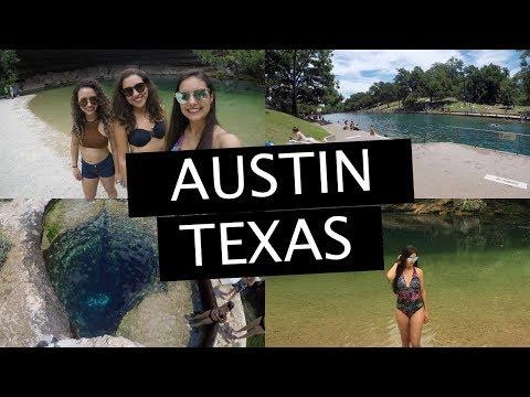 VLOG: Austin - Texas (Hamilton Pool, Jacob's Well, Barton Springs Pool e mais...)