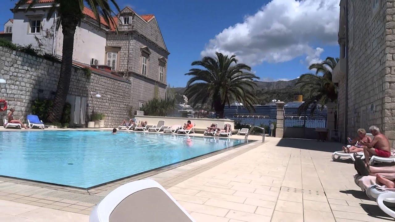 Hotel Lapad Dubrovnik Swimming Pool Youtube