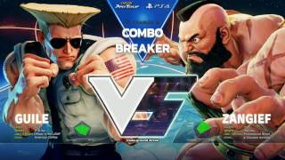 SFV: Liquid NuckleDu vs. CYG BST Snakeyez - Combo Breaker 2017 Winners Finals - CPT 2017