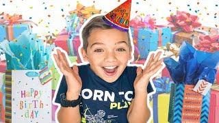 SHAE's BIRTHDAY TREASURE HUNT! || Opening Presents