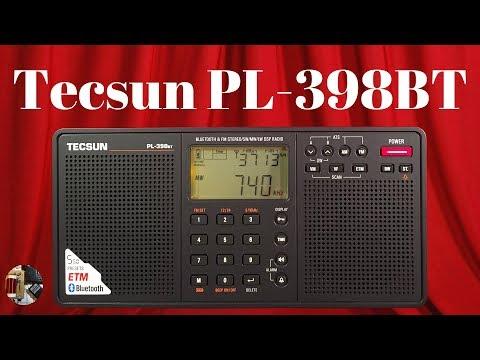 Tecsun PL-398BT AM FM Stereo LW Shortwave BT Portable Radio Review