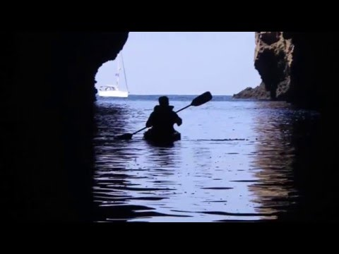 Kayaking Painted Cave 2015 with Sail Channel Islands