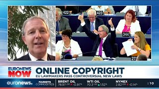 Online Copyright: EU lawmakers pass controversial new laws