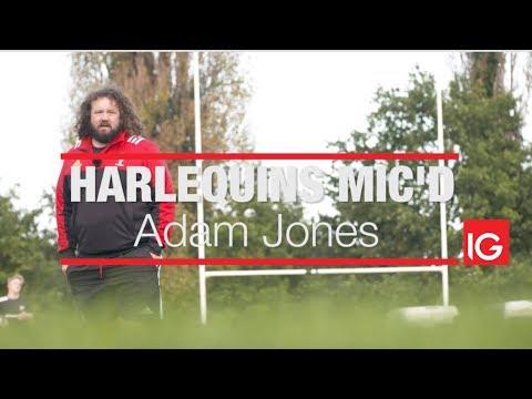 Harlequins Mic'd Presented by IG: Adam Jones