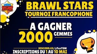 Brawl Stars Rising Stars | 2000 Gemmes A Gagner | 32 Équipes