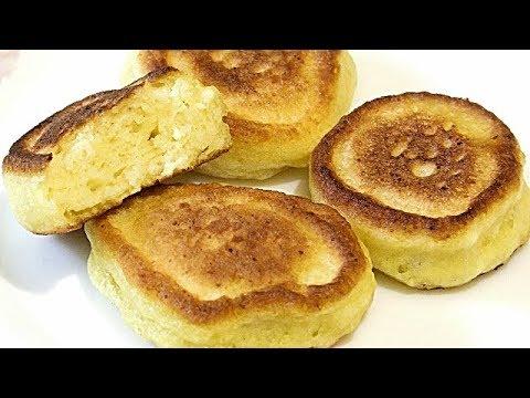 Сытный-быстрый завтрак,ТВОРОЖНЫЕ ОЛАДЬИ/Curd Fritters.
