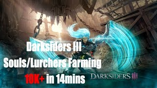 Darksiders 3 1000 soul every 2 minute or less (early farming)