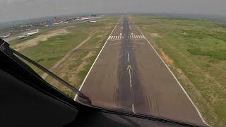 PilotCAM 787 into Kinshasa