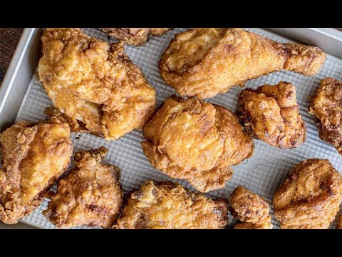 Chef Kevin Belton S Fried Chicken With Sweet Heat Sauce Youtube