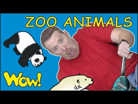 ZOO Animals Story from Steve and Maggie with Bobby | Learn Free Speaking Stories Wow English TV