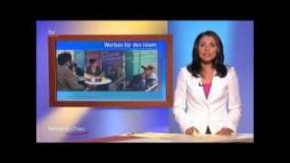 Muslime für Frieden - Bericht der Hessenschau über Ahmadiyya Kampagne