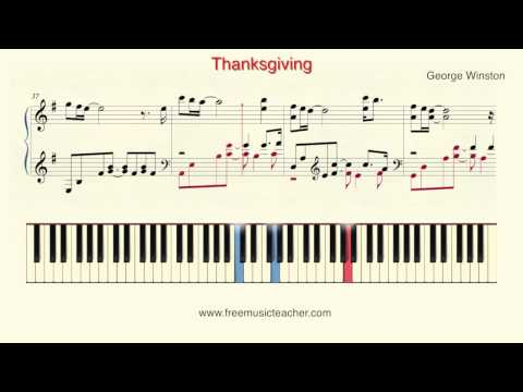 How To Play Piano: George Winston