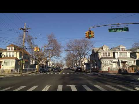 Driving from South Ozone Park to South Jamaica in Queens,New York