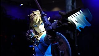 behold the amazing legend of zelda e3 booth tour ign access