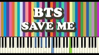 bts 방탄소년단 save me piano cover