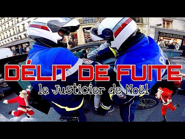 moto pere noel paris 2018 Video shows Santa chasing down hit and run driver in Paris   The  moto pere noel paris 2018