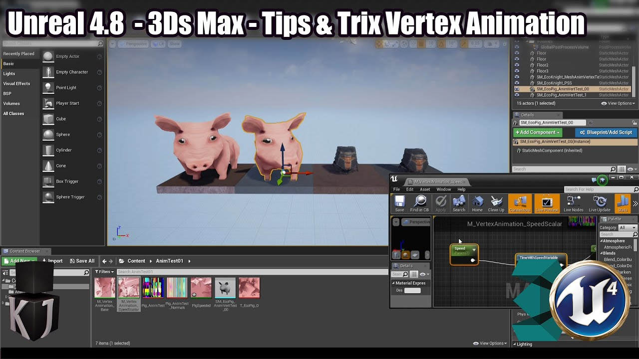 Unreal 48 timeline vertex animation part 3 tips trix youtube unreal 48 timeline vertex animation part 3 tips trix malvernweather Gallery