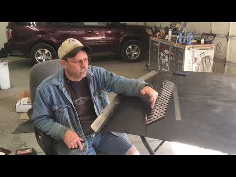 Building a rear spoiler from scratch out of steel - Part 1 of 2
