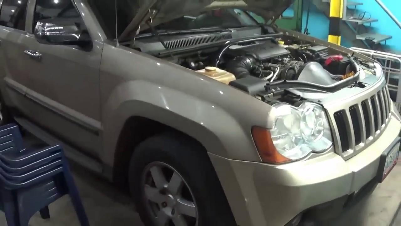 da marcha o arranque pero no enciende que hacer? jeep grand