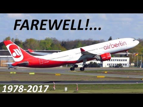 Farewell Air Berlin! 20 Minutes of Air Berlin Action at Berlin Tegel Airport TXL [Full HD]