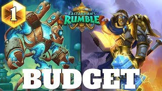 Hearthstone BUDGET PALADIN for easy Legend! Hearthstone Rastakhan#39s Rumble Budget Decks #4 2018