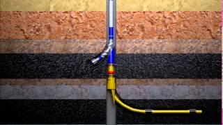 анимация процесса бурения нефтяной скважины(процесс освоения нефтяной скважины., 2015-03-14T09:11:33.000Z)