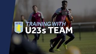Training with Aston Villa U23s