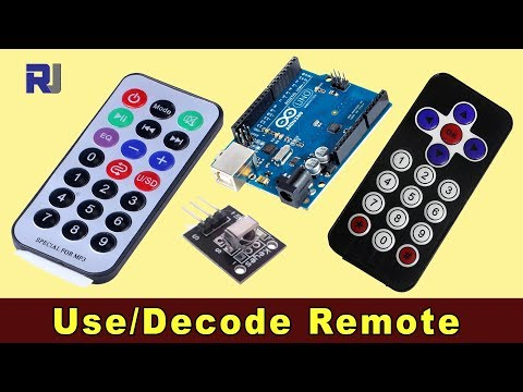 How to decode any remote code with Arduino