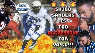 Deion Sanders Son Is A *MORE AGGRESSIVE* Version Of Him!!!- Shilo Sanders Highlights [Reaction]